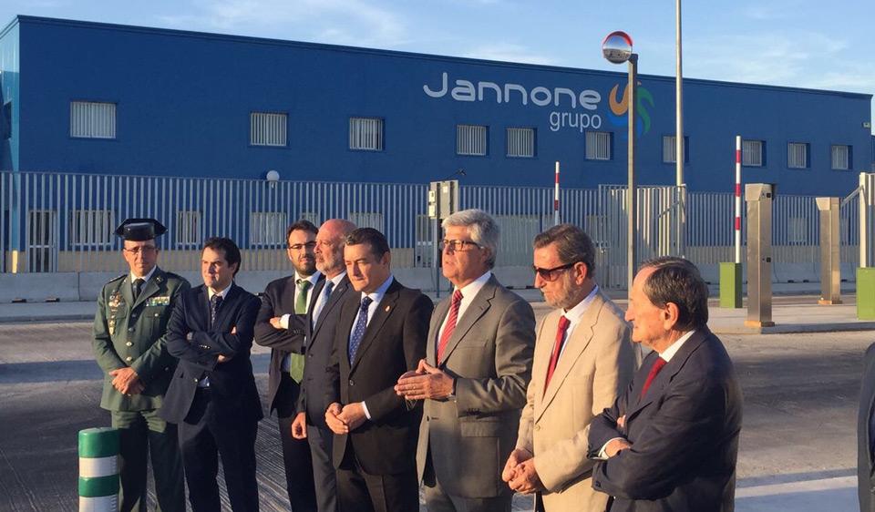 La Zona Franca del Puerto de Sevilla entra en funcionamiento - Grupo Jannone